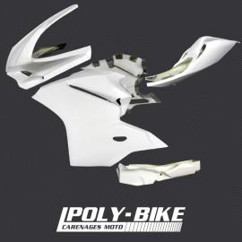 Carénage poly complet 5 parties fibre de verre 899, 1199
