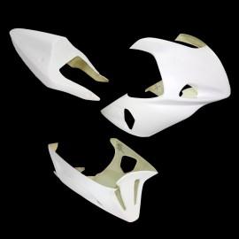 Carénage poly complet 3 parties selle origine fibre de verre GSXR600 01-03, GSXR750 00-03