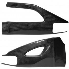 Protections de bras oscillant carbone GSXR1000 2007-2008