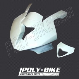Tête de fourche racing petit format fibre de verre S1000RR 2012-2014