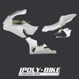 Carénage poly complet racing 4 parties fibre de verre R1 2015-2019