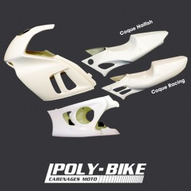 Kit carénage poly CBR 600 F 1995-1996 PC31