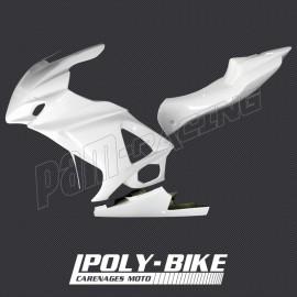 Carénage poly complet racing 3 parties fibre de verre GSXR1000 07-08