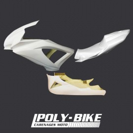 Kit carénage poly GSXR 600/750 2008-2010