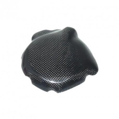 Protection carter d'alternateur carbone, C/K ou titane argent GSXR1000 01-08