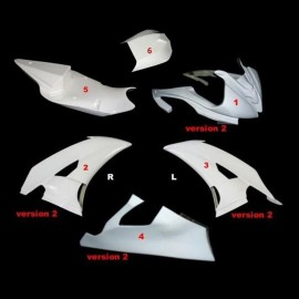Kit carénage poly racing world supersport R6 08-16