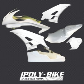 Kit carénage poly racing version 2 R6 2006-2007
