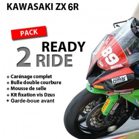 Pack Ready 2 Ride Kawasaki ZX-6R 09-16