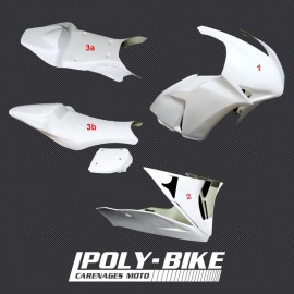 Kit carénage poly HRC CBR1000RR 2012-2016