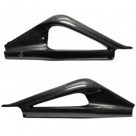 Protections de bras oscillant carbone Daytona 675 2006-2012, 675R 2011-2012