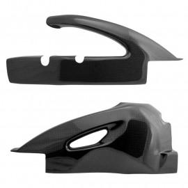 Protections de bras oscillant carbone GSXR600, GSXR750 2006-2010
