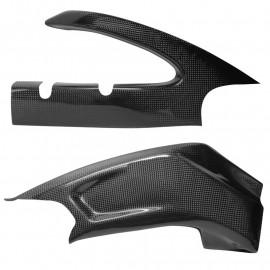 Protections de bras oscillant carbone GSXR600, GSXR750 2011-2016