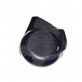 Protection carter allumage carbone, C/K ou titane argent CBR600RR 2007-2012